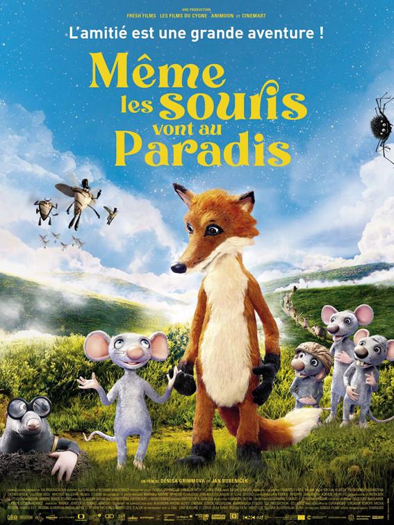 Affiche du film Même les souris vont au paradis