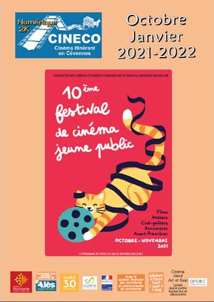Programme d'octobre à décembre 2021